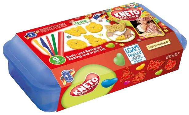 Kneto Bake & Play Klei- en Koekfiguurtjes Pasen