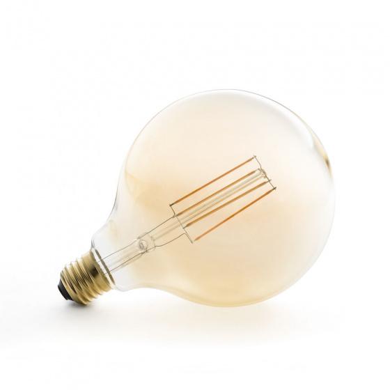 spaarlamp led Globe E27 4W glas 18 cm warm wit