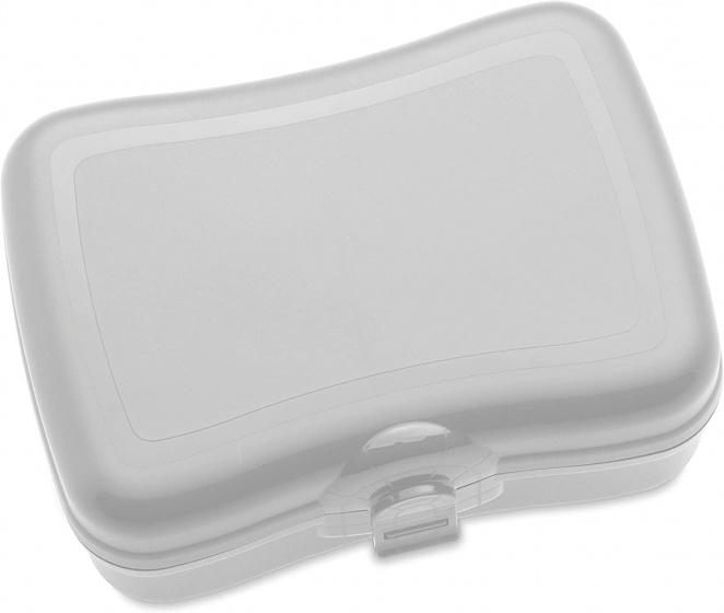 lunchbox Basic 6,6 x 12,2 x 16,8 cm grijs