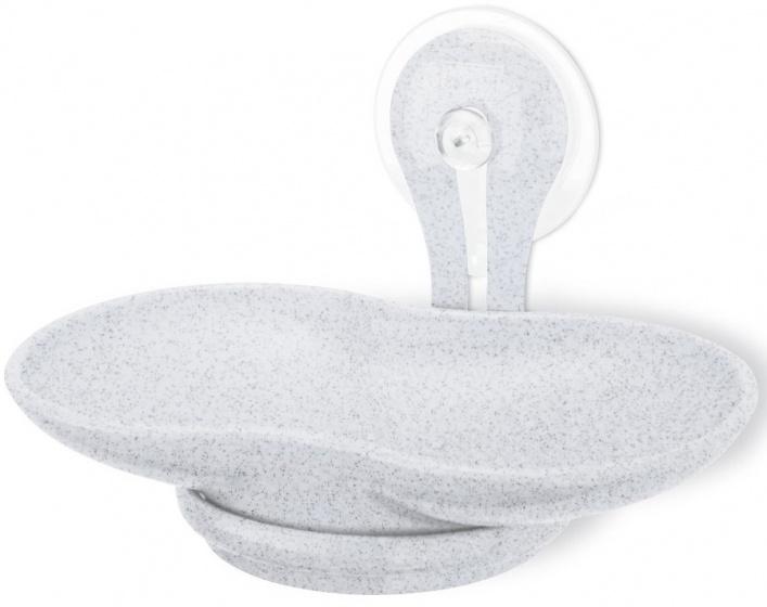 zeephouder 14 cm grijs