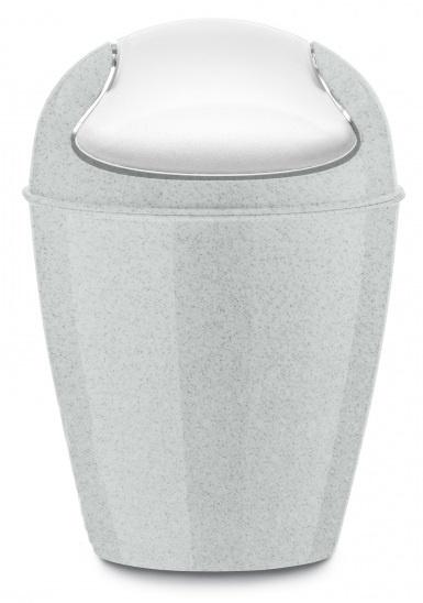 zwenkdekselbak DEL XXS Organic 0,9 liter grijs