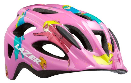 Lazer kinderhelm P'Nut Supergirl insect junior 46-50 cm roze