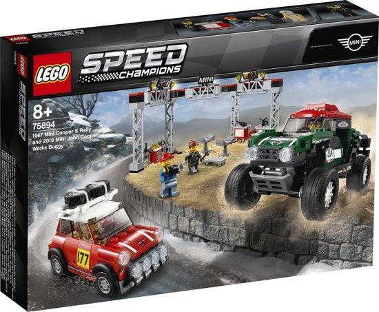 Speed Champions  MINI COOPER  (75894) LEGO  pas de taxes