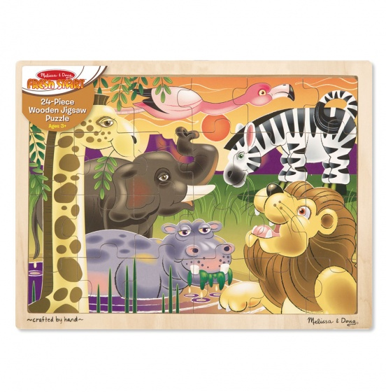 Afrikaanse savanne puzzel 24-delig