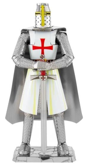 Iconx Templar Knight modelbouwset zilver/wit