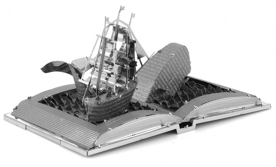 Moby Dick Book Sculpture modelbouwset