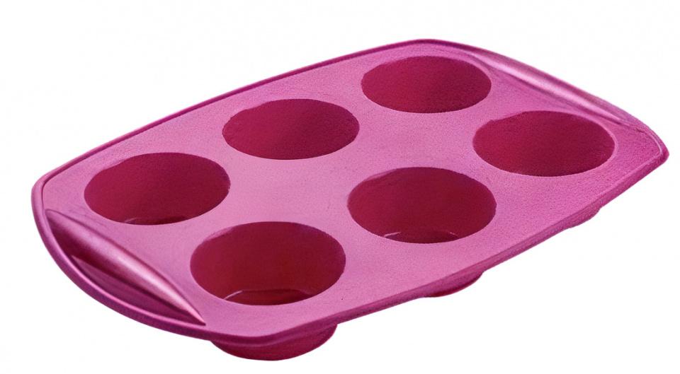 bakvorm Flex muffins 29,5 x 20,5 cm siliconen paars