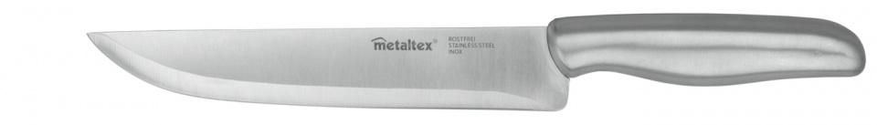 koksmes Gourmet 30 cm RVS zilver