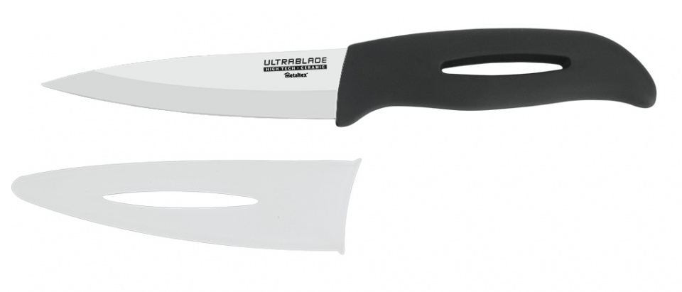 santokumes Ultrablade Gamma 24 cm keramiek zwart