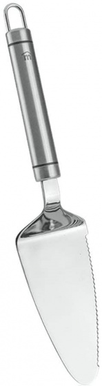 taartschep Victoria 27 x 5,7 cm RVS zilver