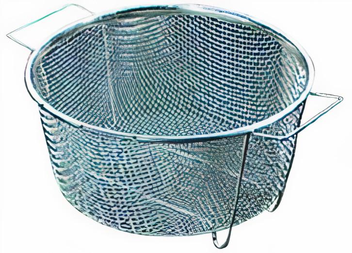 zeef staand 19,5 cm staal zilver