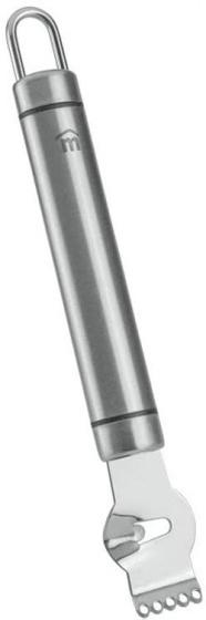 zester Victoria 17 cm RVS zilver