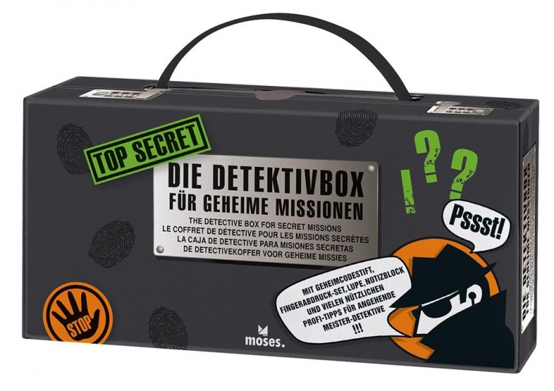 detectivekoffer Top Secret 22 cm
