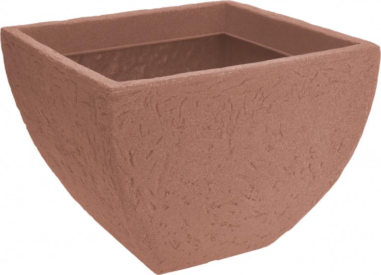 bloempot Classic 40 x 31 cm kunststof bruin