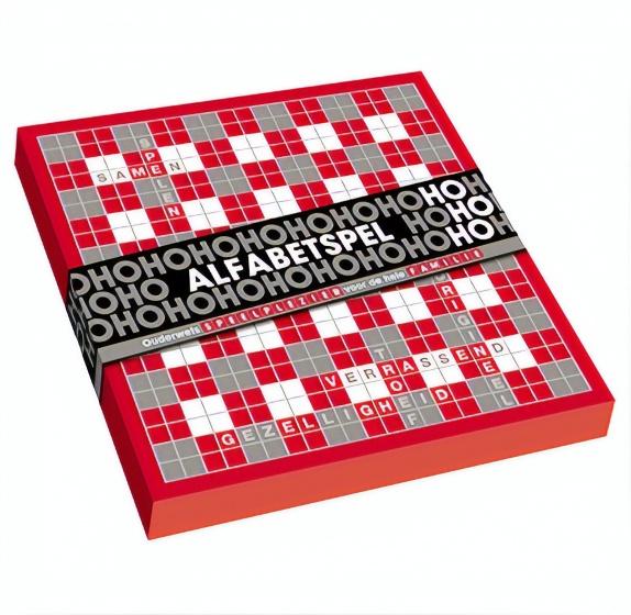 gezelschapsspel HoHoHo karton rood