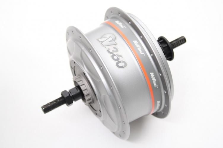Nuvinci Rear Hub N360 B-36SV-RR-12 36G gray - TWM Tom Wholesale