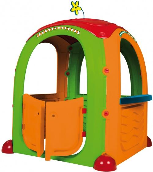 speelhuis Cocoon 94 x 125 cm groen/oranje/rood