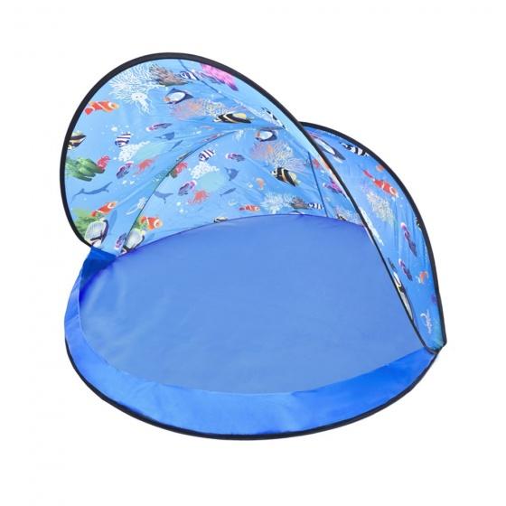 speeltent Aquarium blauw 120 cm