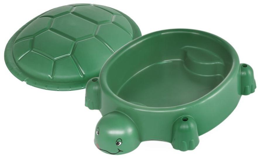 zandbak schildpad 115 x 83 cm groen