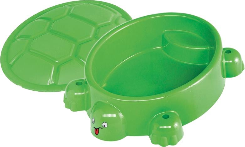 zandbak schildpad 95,5 x 68 cm groen