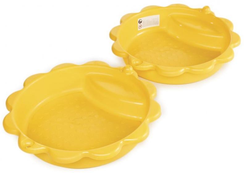 zandbak Zonnebloem geel 114 cm 2-delig