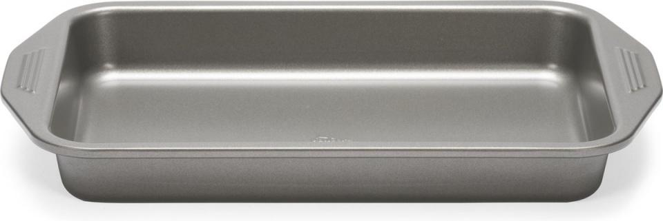 bak- en braadslede 39,4 x 5,1 x 25,4 cm staal antraciet