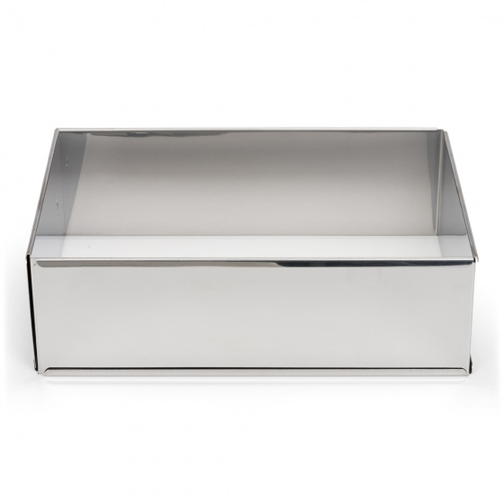 bakframe verstelbaar 25-46 cm rvs zilver
