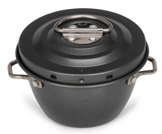 puddingtrommel 250 ml staal zwart