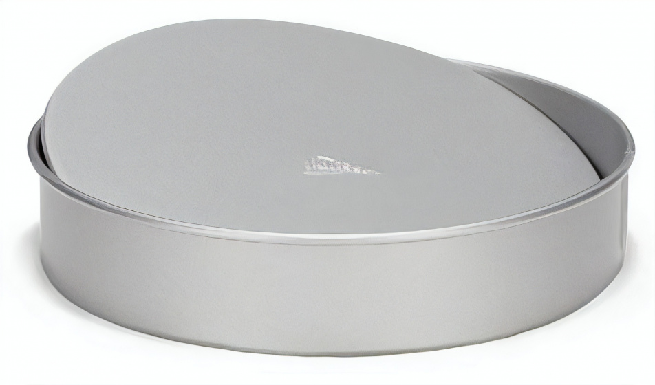 taartvorm met losse bodem 18 cm staal zilver
