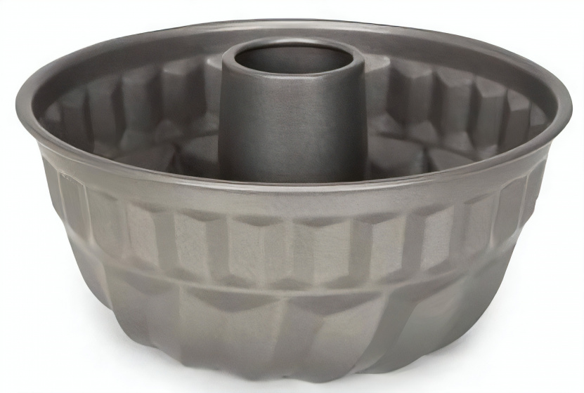 tulbandvorm 22 ,5 x 13 cm staal antraciet