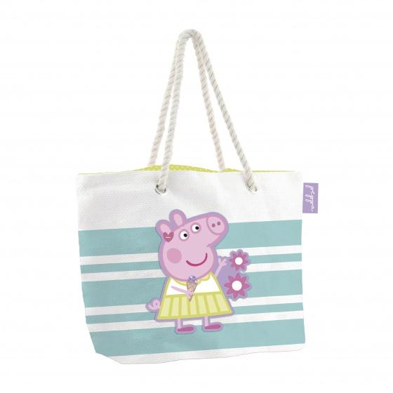 strandtas/shopper Peppa Pig 18 liter