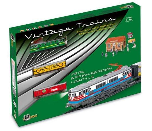 Startset batterij 303 Classic goederen trein