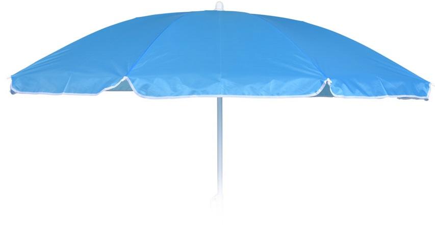 parasol 180 cm polyester blauw