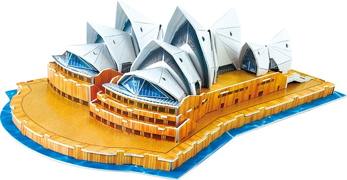 3D Puzzel Sydney Opera House 58-Delig