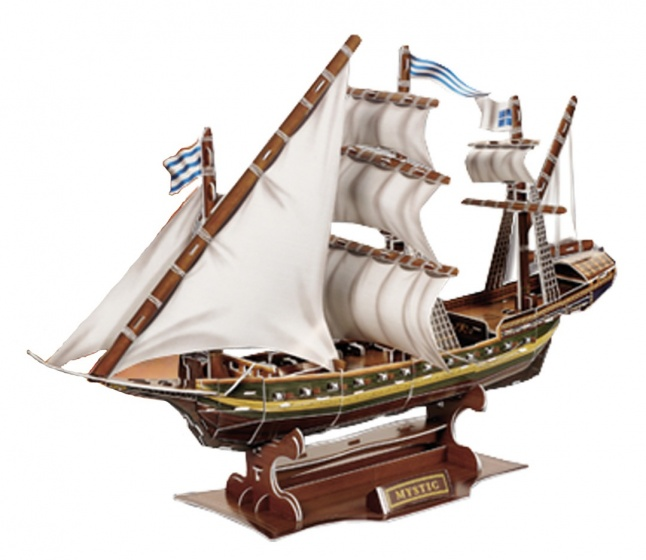 3D Puzzel Zeevaart Zeilschip 129-Delig