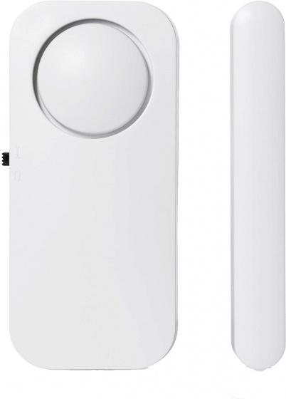 deur- en raamalarm SMA-40250 8 cm 90 dB wit