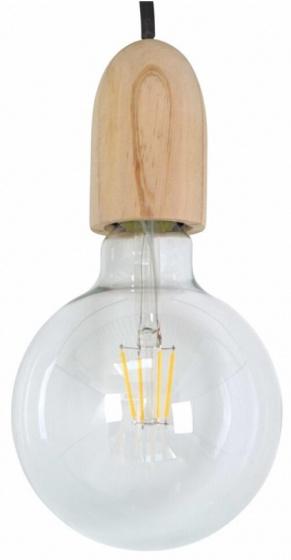 decoratieve lamp 12 cm E27 glas bruin/zwart