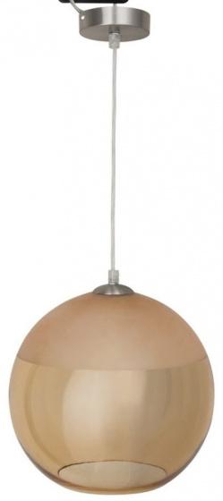 lampenkap hangend bruin glas