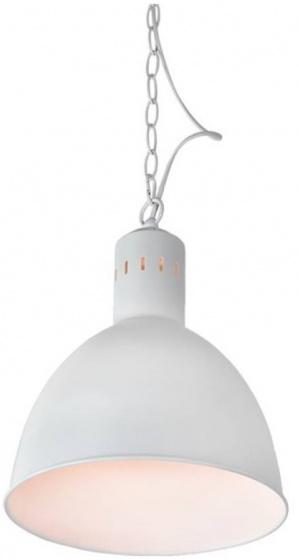 lampenkap hangend staal wit