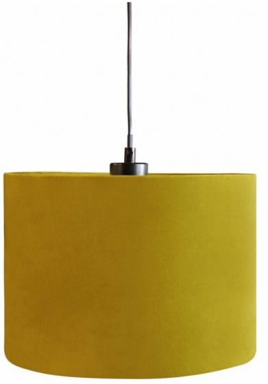 lampenkap hangend 28 cm textiel geel
