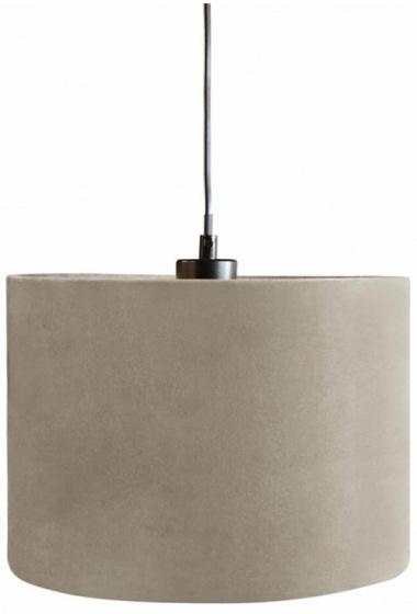 lampenkap hangend 28 cm textiel lichtbruin