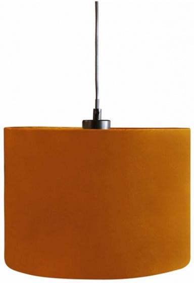 lampenkap hangend 28 cm textiel oranje