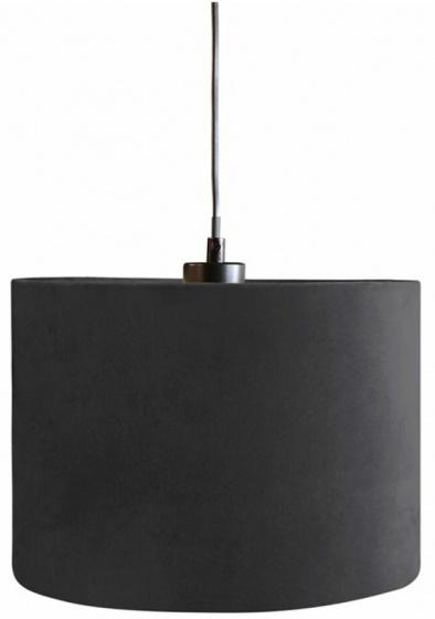 lampenkap hangend 28 cm textiel zwart