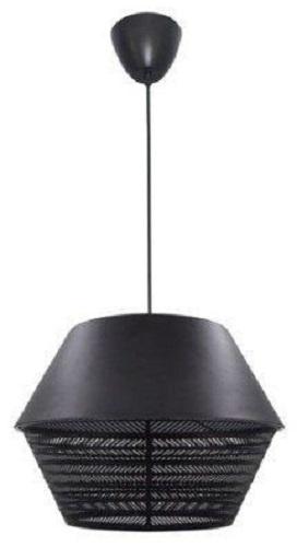 lampenkap hangend zwart staal