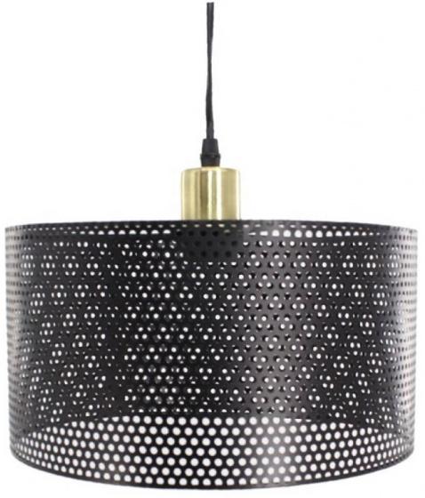 lampenkap hangend staal zwart/goud
