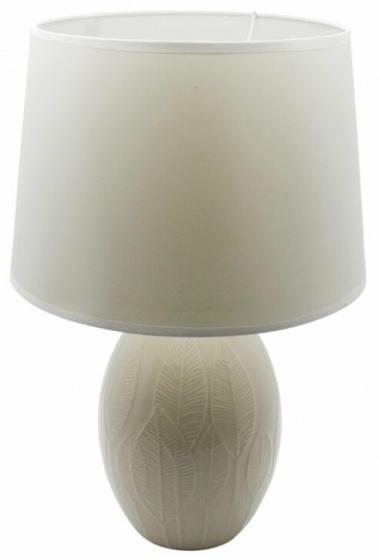 tafellamp 16,5 x 31,5 cm keramiek wit