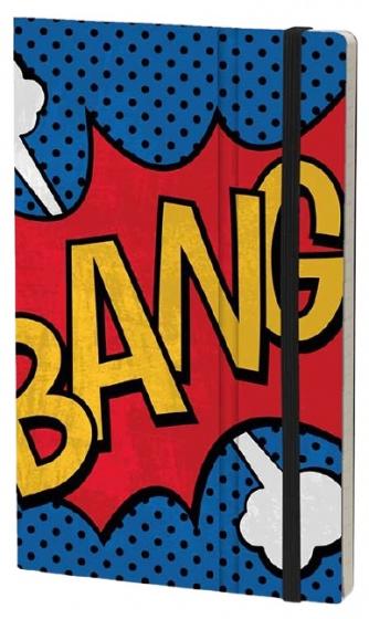 notitieboek Bang 21 x 13 cm karton/ivoor papier