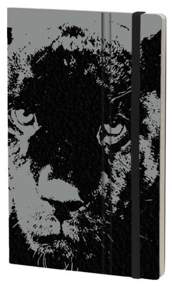 notitieboek Black Panter 21 x 13 cm karton/papier