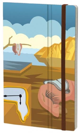 notitieboek Dali 21 x 13 cm karton/ivoor papier