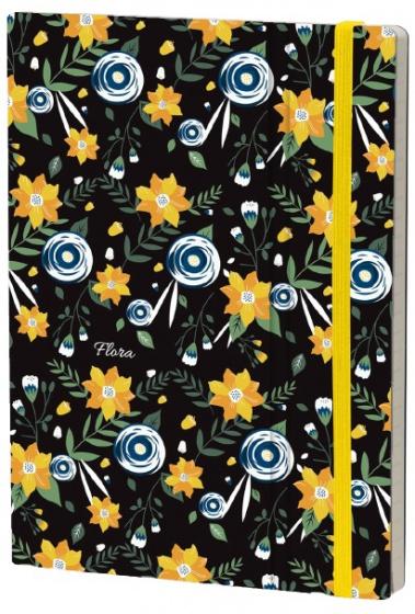 notitieboek Jasmine 21 x 15 cm karton/ivoor papier